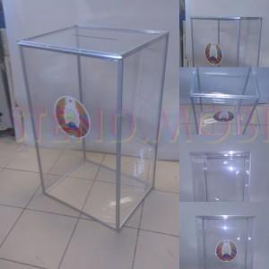 Урна для голосования. Прозрачная. Беларусь