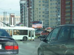 перекресток ул.Притыцкого с ул.Лобанка в г.Минск