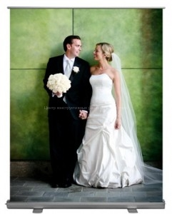 ролл_мобильный фото стенд для свадьбы